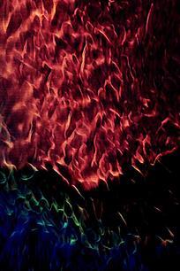 时尚活力火焰背景图案