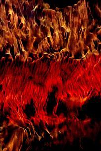 时尚火焰印花背景图案