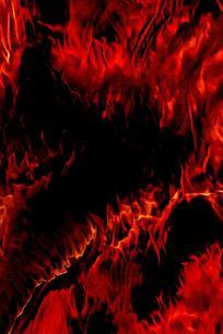 时尚燃烧红色火焰底纹
