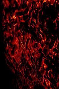 时尚震撼火焰背景图案