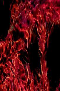 汹涌火焰创意底纹背景