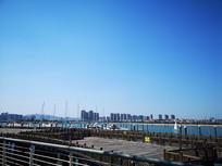 厦门帆船码头海景