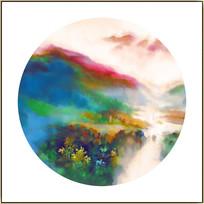 新中式山水风景画