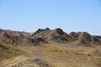 大漠风光戈壁山区