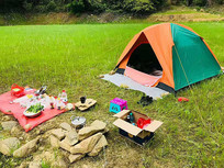 野外帐篷生活