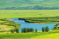 河湾绿野村庄