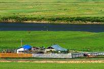 乡村农家风景
