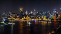 滨河城市夜景