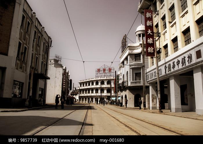 访旧上海老街图片