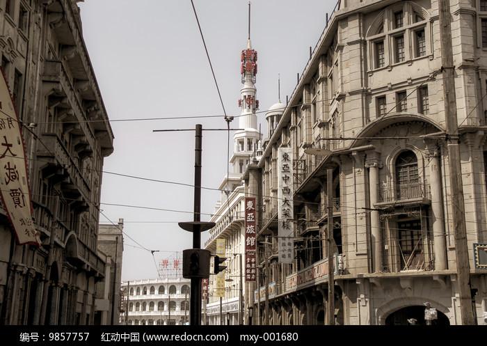 怀旧上海新世界图片
