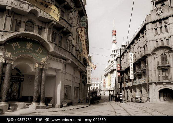 旧上海百乐门图片
