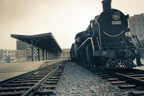 旧蒸汽老火车