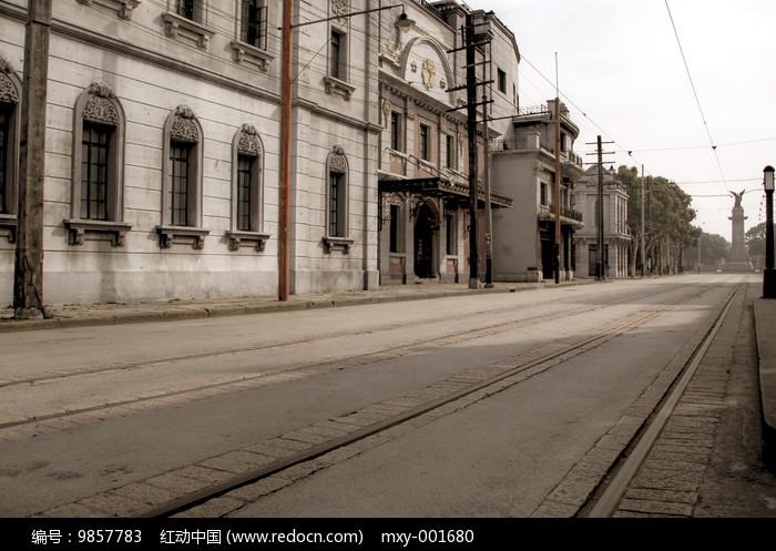 老上海空档街区图片