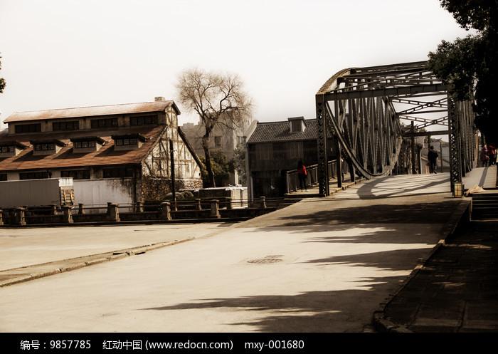 老上海外白渡桥图片