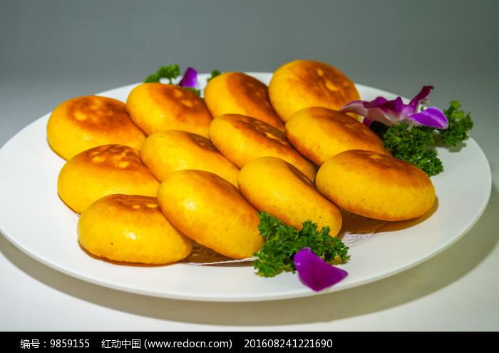 香煎玉米饼图片