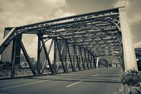 百年外白渡桥图