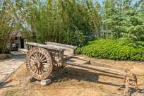 传统农耕工具-老式板车