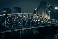 怀旧苏州河外白渡桥