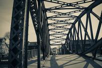 上海滩外白渡桥拍摄