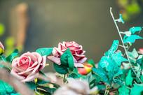 铁艺漂亮的玫瑰花