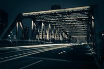 外白渡桥灯光