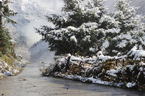 雪山风景摄影