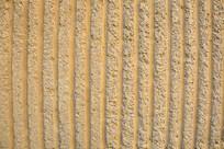 泥土竖条背景墙