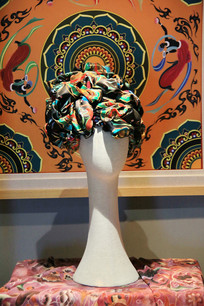 敦煌丝绸围巾创意