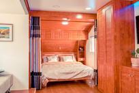 旅行房车卧室