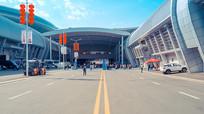 亚欧博览会场馆通道
