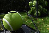 网球发球架
