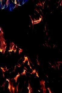 抽象复古火焰底纹背景