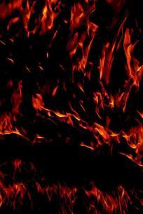 抽象火焰飞腾底纹