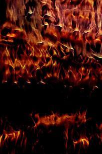 抽象火焰图案背景