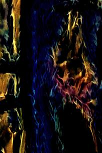 抽象火焰印花底纹