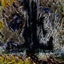 抽象燃烧火焰纹理背景