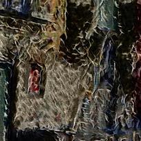 抽象燃烧建筑底纹