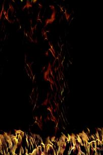 抽象艺术火焰装饰画