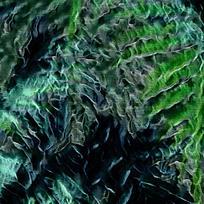 抽象植物火焰油画背景