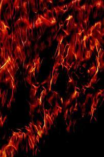 创意沸腾火焰背景