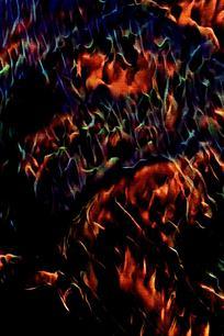 创意复古火焰背景