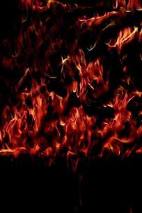 创意火焰冲天背景图案