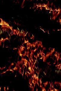 创意火焰燃烧底纹