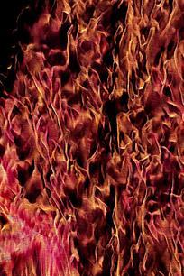 动感火焰纹理背景