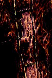 复古火焰印花底纹