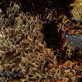 复古金色底纹背景