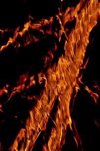 酷炫条形火焰背景