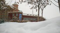 新疆阿勒泰雪景