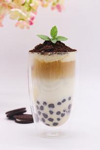 奥利奥波波奶茶