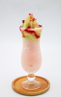 水果缤纷冰沙